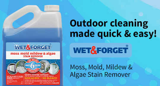 Wet & Forget Outdoor Stain Remover Cleaner