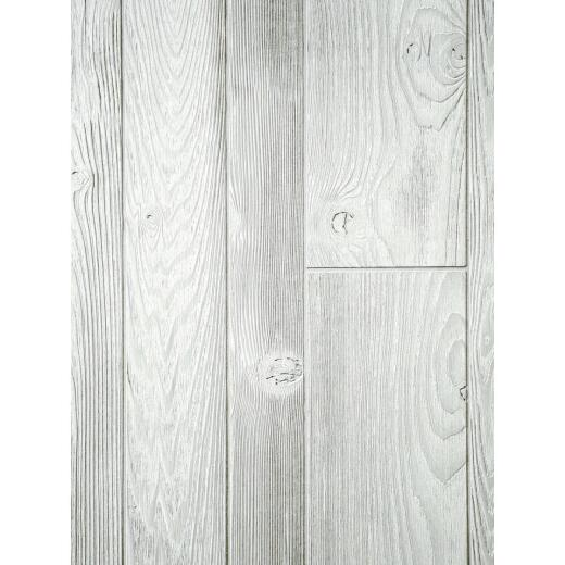 DPI 4 Ft. x 8 Ft. x 1/4 In. White Woodgrain Homesteader Wall Paneling