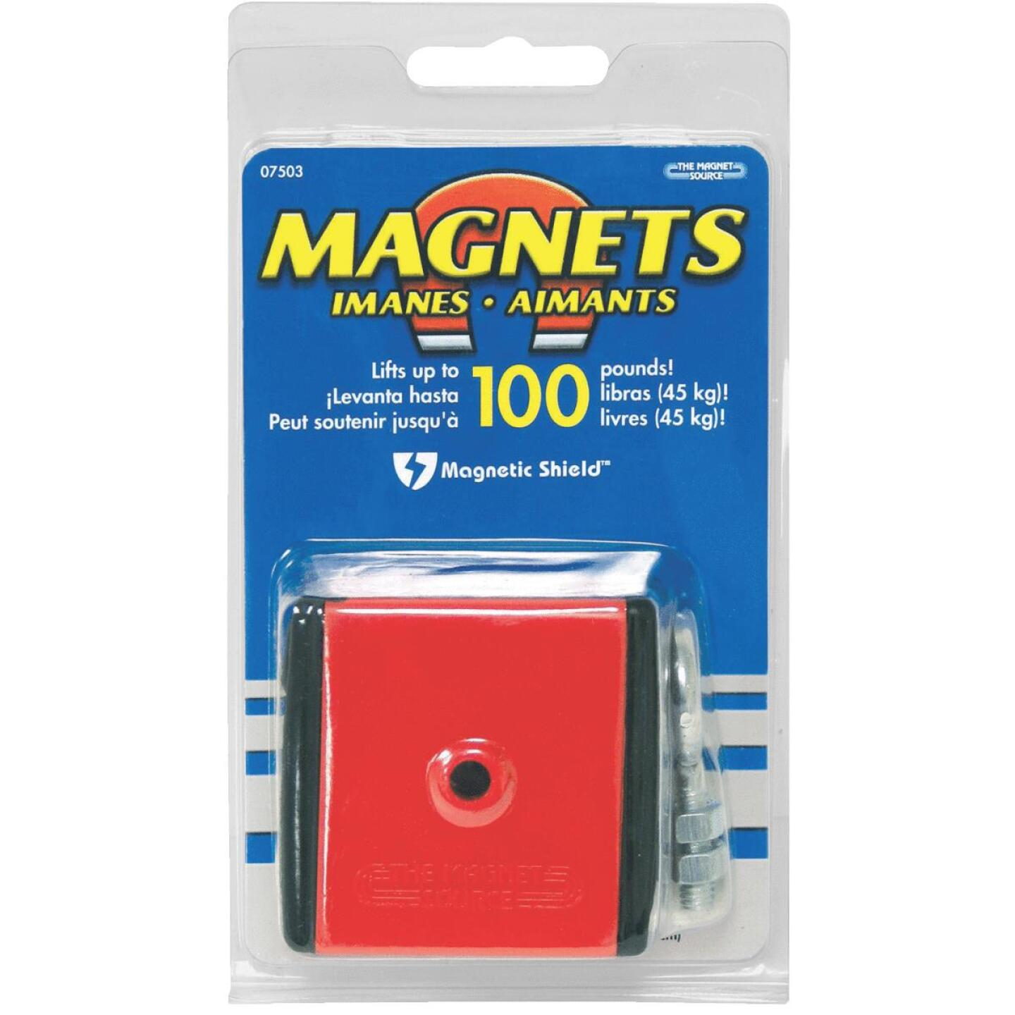 Master Magnetics 100 Lb. Retrieving and Lifting Magnet Image 2