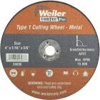 Weiler Vortec Type 1 4 In. x 1/16 In. x 3/8 In. Metal/Plastic Cut-Off Wheel Image 1