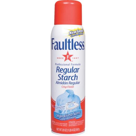 Faultless 20 Oz. Aerosol Spray Starch