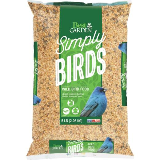 Best Garden Simply Birds 5 Lb. Wild Bird Seed