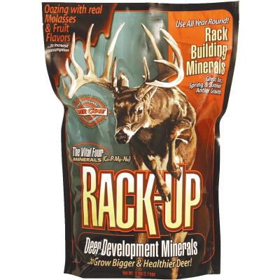 Rack-Up 6 Lb. Granular Blended Mineral Supplement Deer Attractant